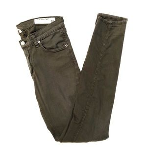 Rag & Bone Size 28 Dist Fatigue Skinny Jeans